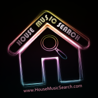 House Music Search logo 200x200 72dpi small image for use on websites